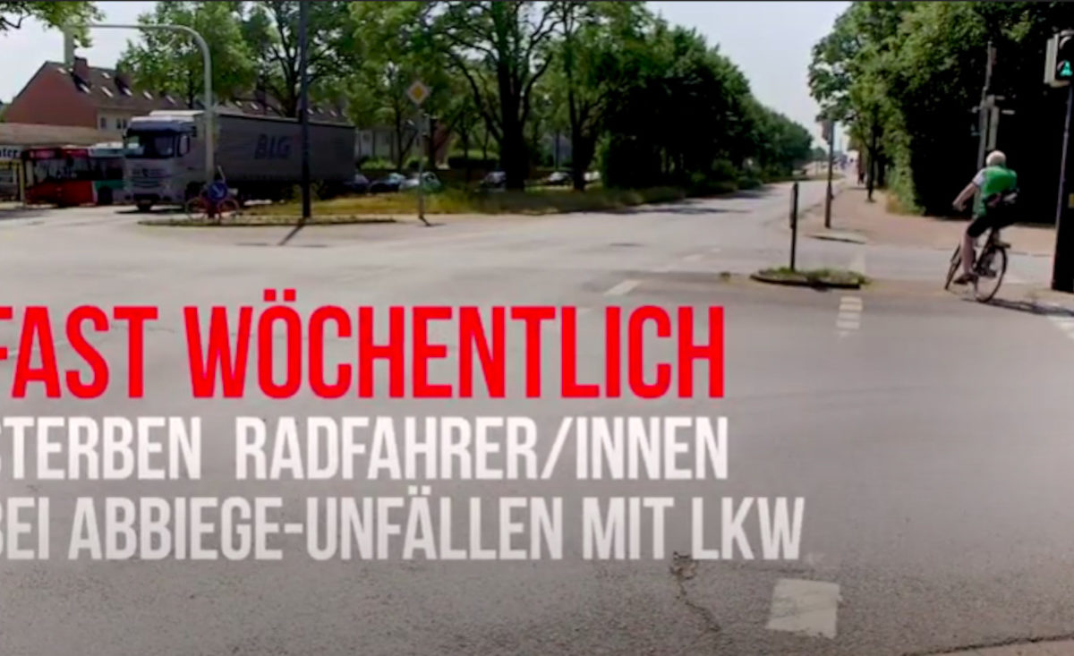 Videovorschau: Abbiege-Assistenten retten Leben!