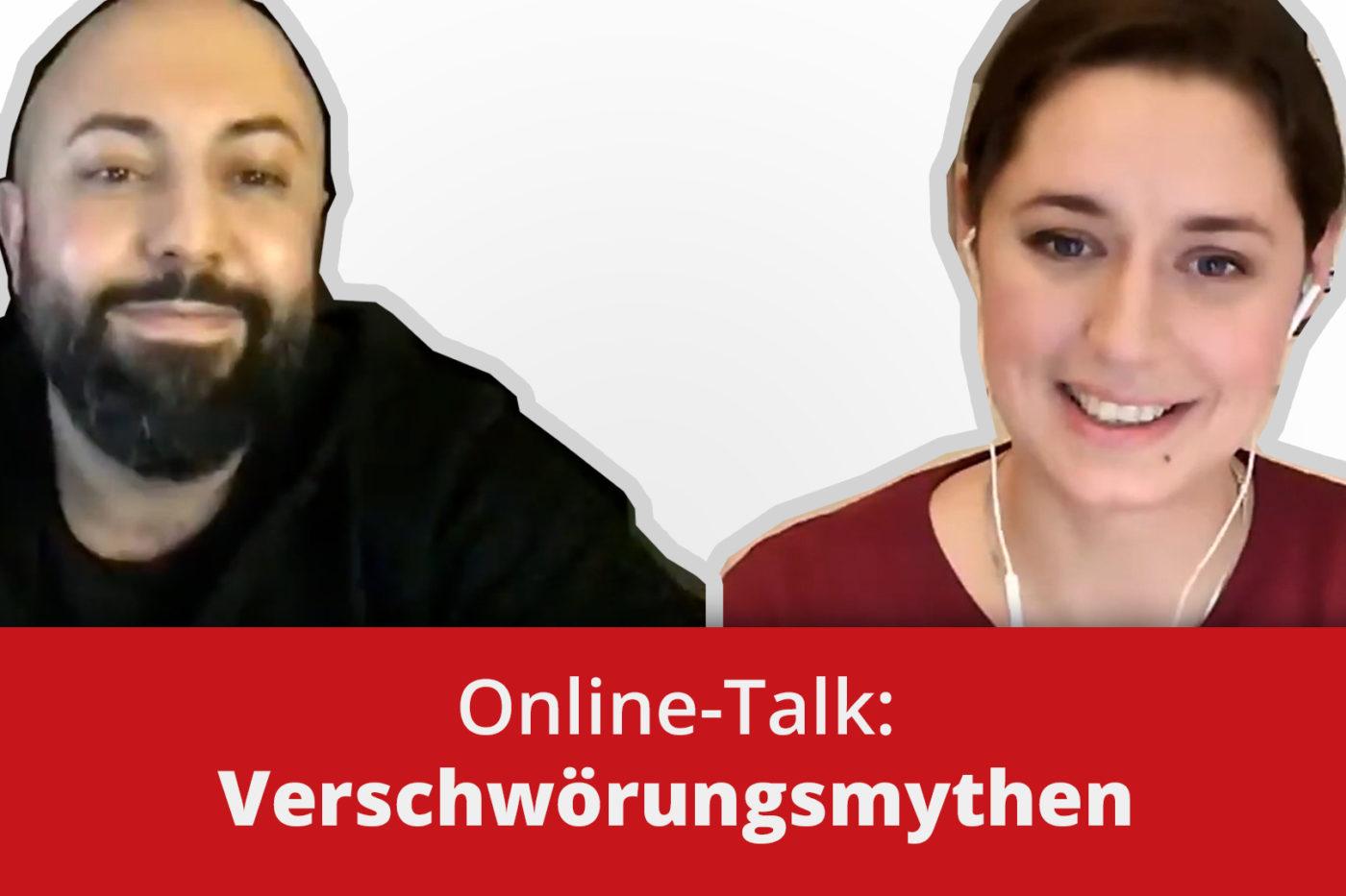 Online-Talk: Verschwörungsmythen