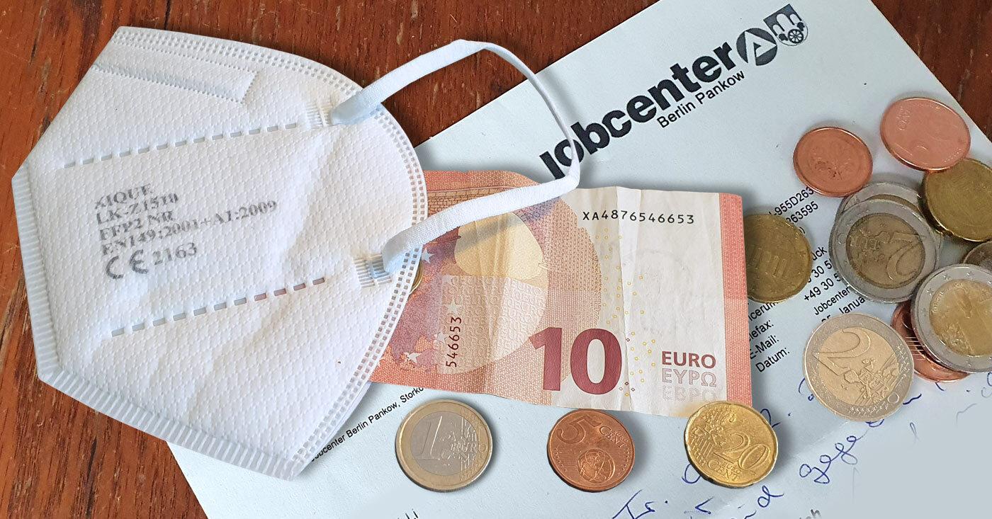 FFP2-Masken kosten viel - die Corona-Krise trifft die Ärmsten in der Gesellschaft besonders hart. Jetzt Campact-Appell unterzeichnen