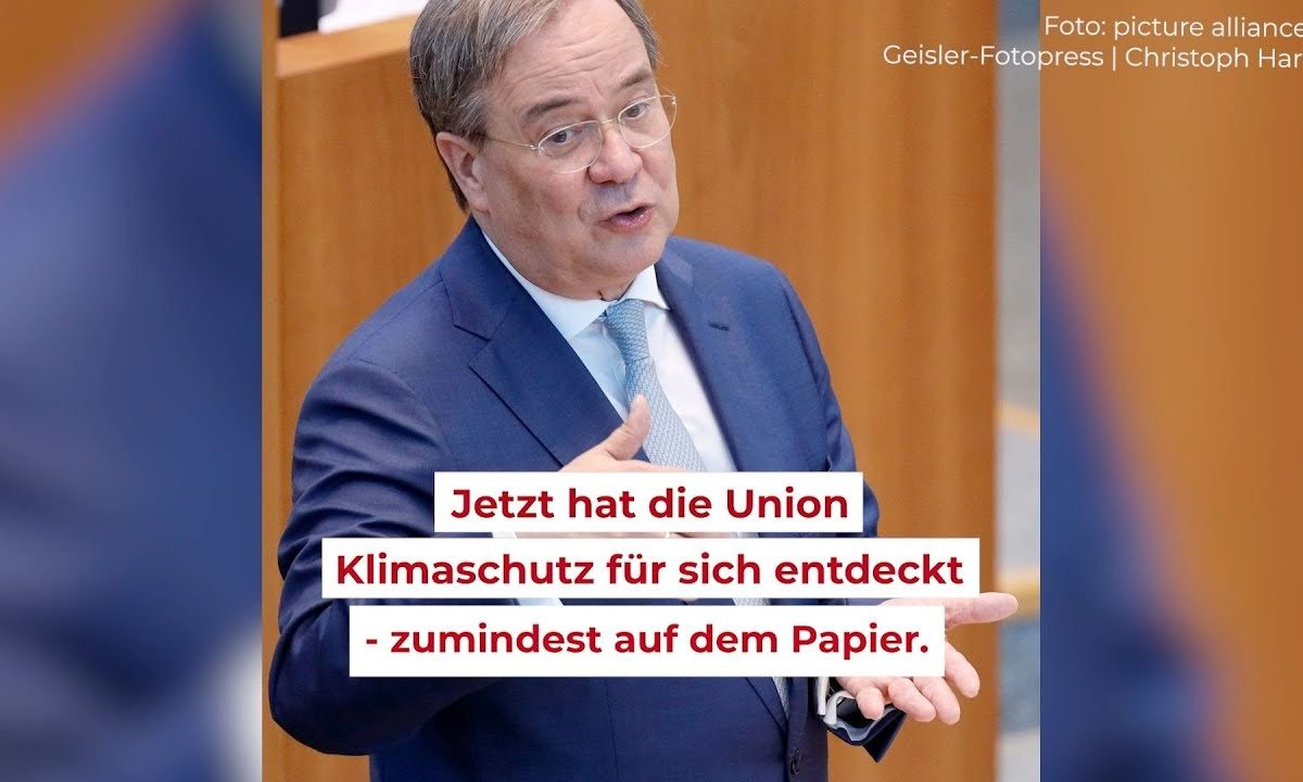 """Screenshot aus dem Video """"Armin Laschet und der Klimaschutz – wie viel Klima steckt im CDU-Wahlprogramm?"""""""