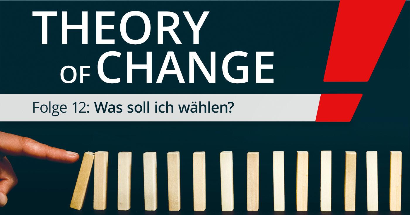 Theory of Change 12: Was soll ich wählen?
