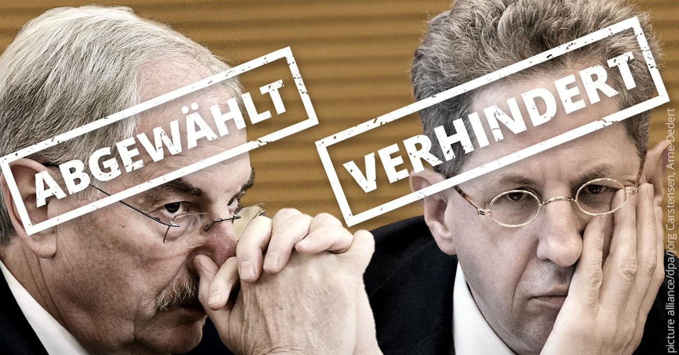 Campact hat bei BTW 2021 versucht, Klimablockierer und Demokratiefeinde aus dem Bundestag herauszuhalten. Erfolge: Maaßen verhindert, Irmer abgewählt.